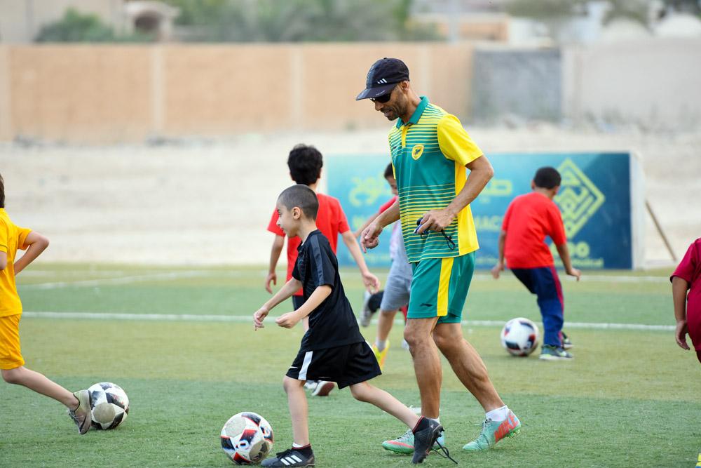 إنطلاق دورة أساسيات كرة القدم .. وضم المميزين ضمن براعم القدم بالنادي