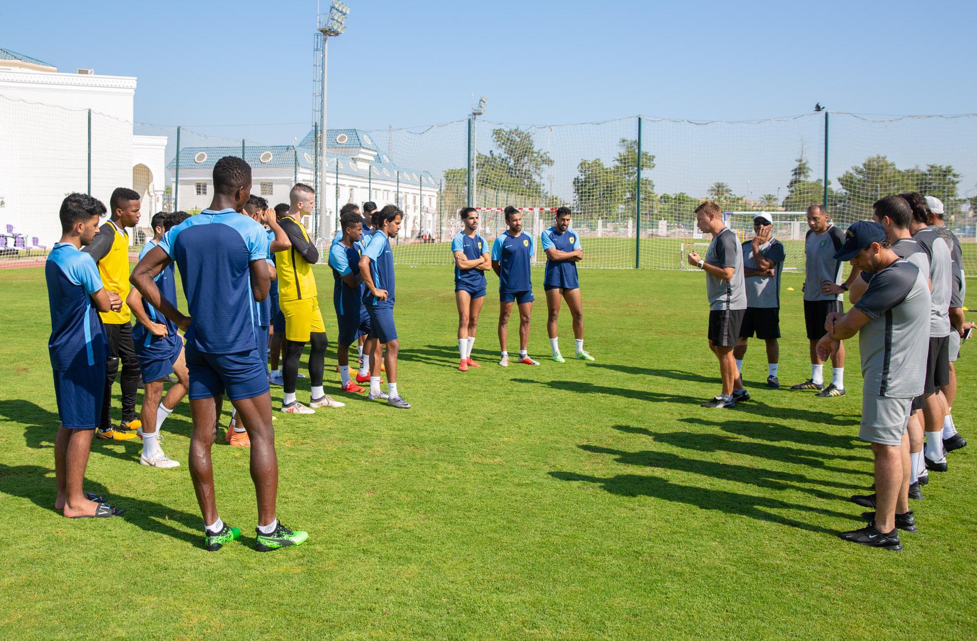 الخليج يلاقي الشهداء المصري في ثالث مبارياته الودية بمعسكر #نادي_الخليج_بالاسماعيلية