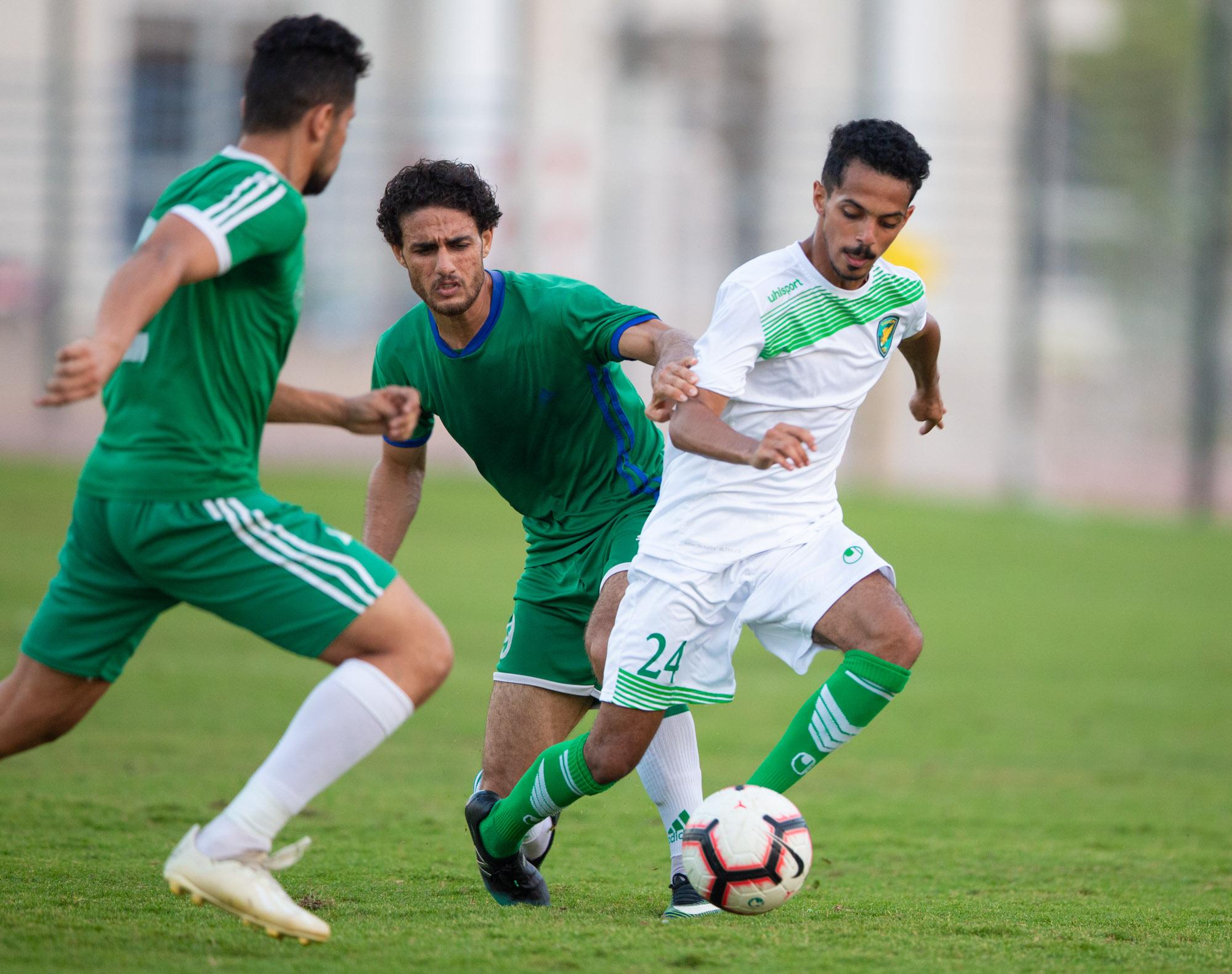 الخليج يتعادل بدون أهداف مع  فريق الشهداء المصري في معسكر #نادي_الخليج_بالاسماعيلية