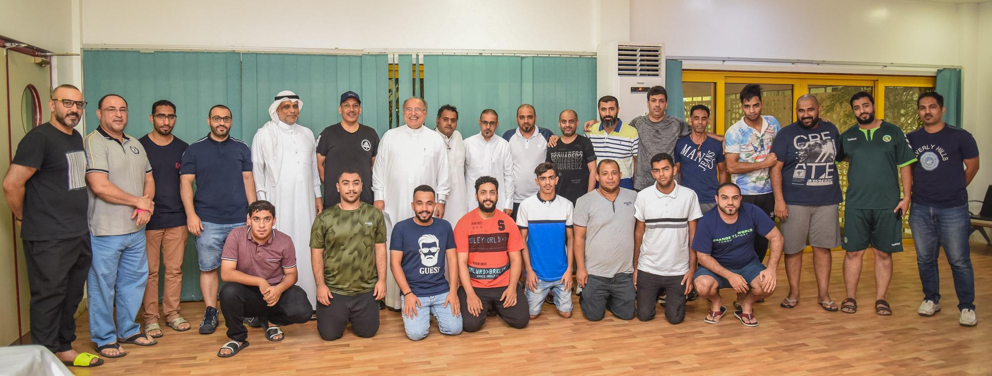 الباشا والمشامع يجتمعان مع رابطة مشجعي الخليج لرسم خارطة دعم ألعاب الدانة في الموسم الجديد