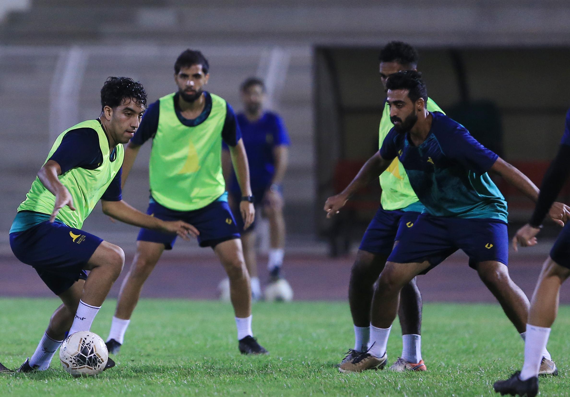 الخليج يكثف استعداداته لمواجهة الدرعية في كأس الملك