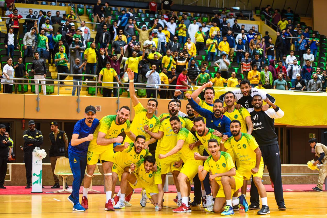 يد الخليج تعبر إلى نصف النهائي بعد الانتصار الكبير على الأهلي