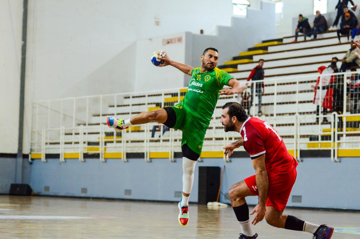 فريق اليد يخسر من العربي القطري… ويختتم مواجهته أمام نادي بعث بني خيار يوم الثلاثاء