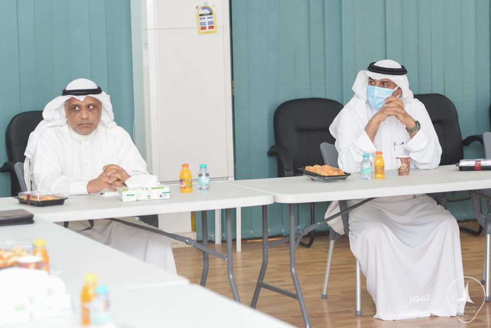 الباشا والربعان يلتقيان .. من أجل الخليج