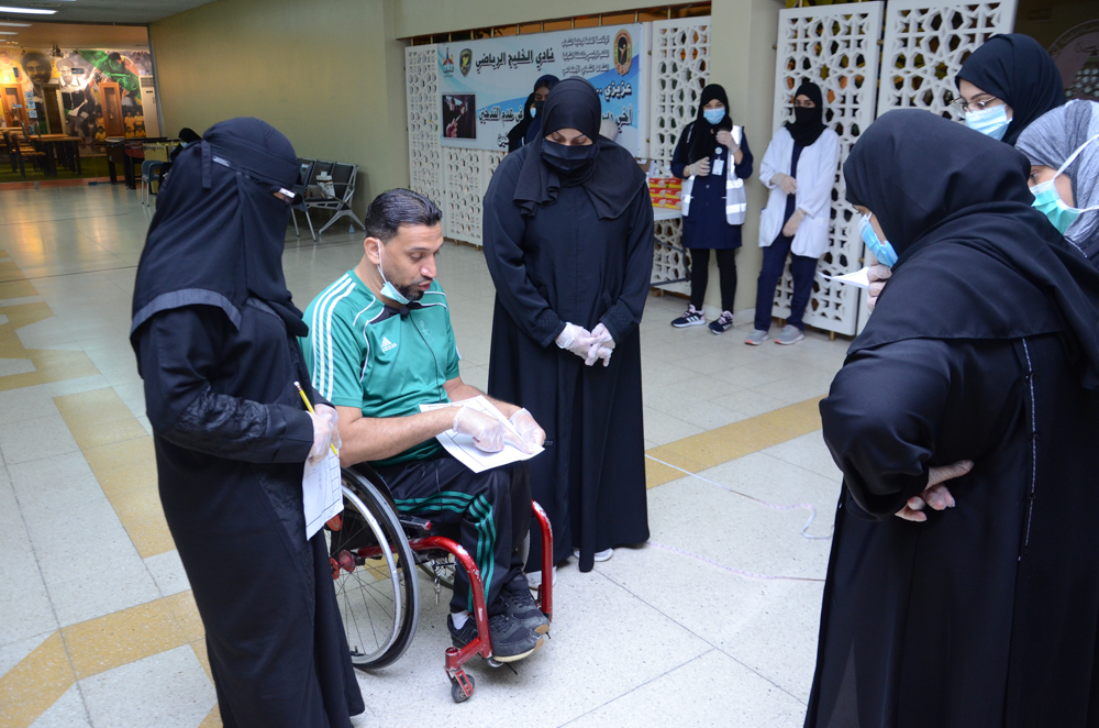 نادي الخليج يستضيف دورة إعداد مدربات ومساعدات لاعبي لعبة البوتشيا لذوي الإعاقة الحركية BOCCIA