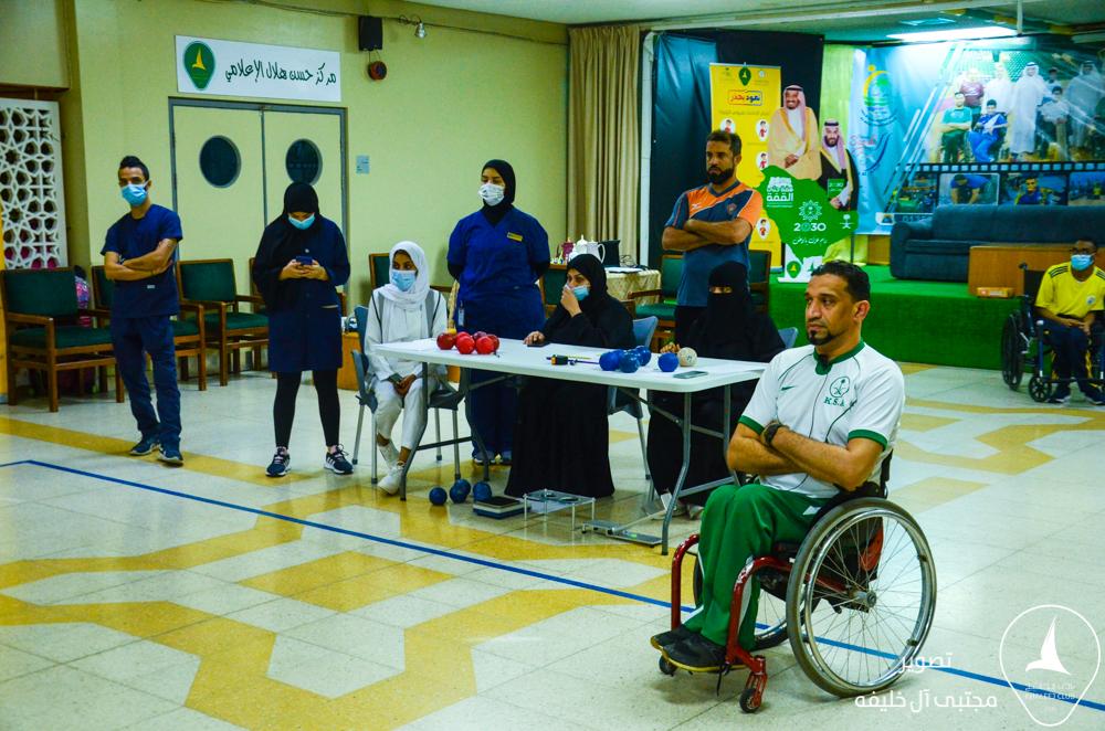 نادي الأحساء لذوي الاحتياجات الخاصة يختتم دورته البوتشيا BOCCIA