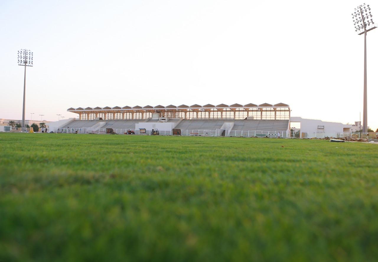 الخليج يقترب من استلام الملعب الرئيسي