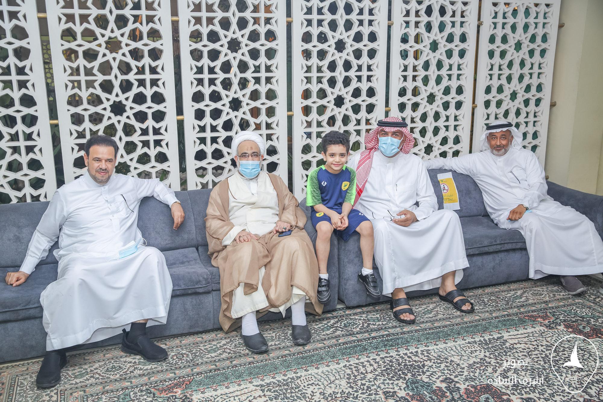 الشيخ محمد المدلوح يزور مقر النـادي