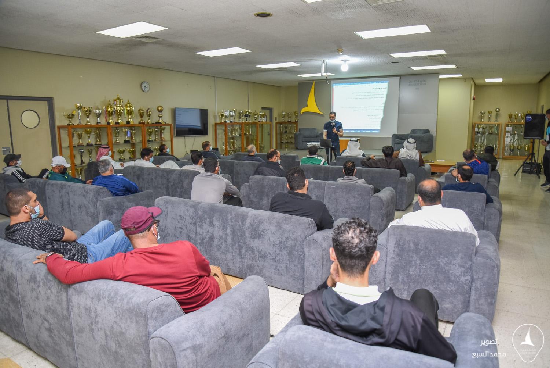 إدارة نادي الخليج تقيم ورشة عمل لمنسوبيها عن الاستراتيجية والحوكمة