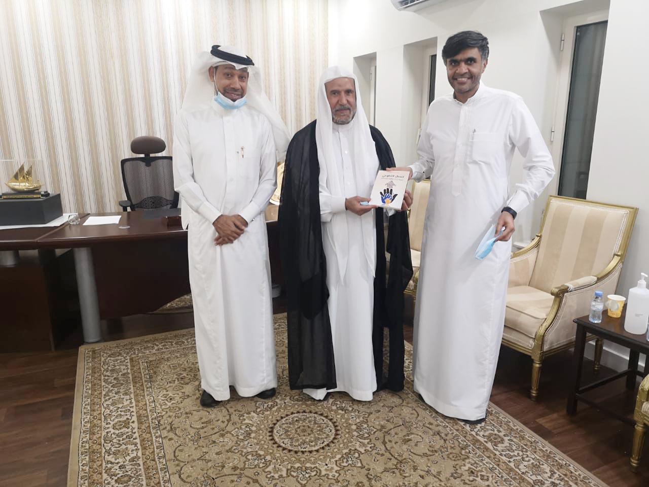 إدارة نادي الخليج تستقبل وفد مكتب الصفار
