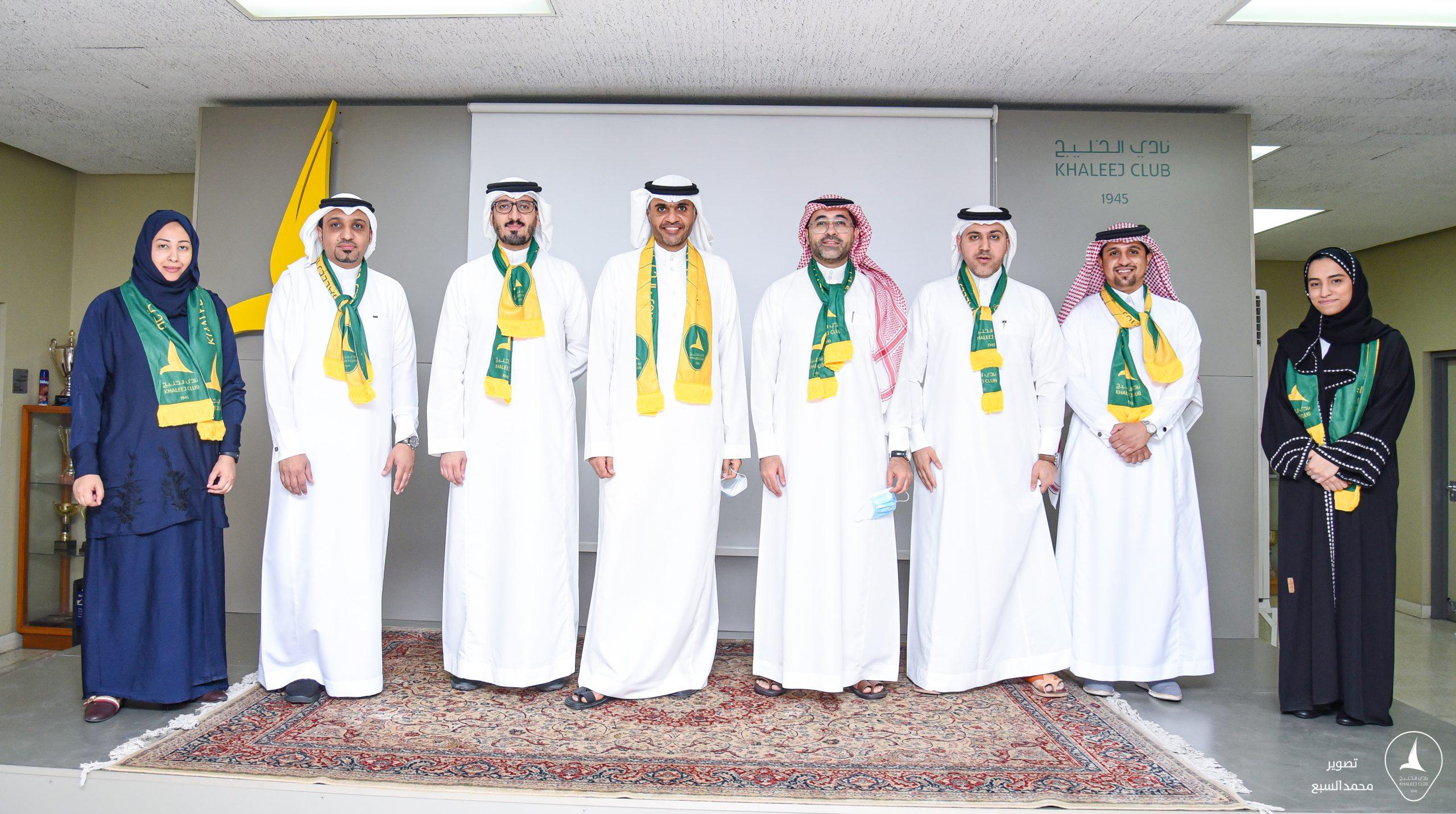 🔰 الجمعية العمومية بـ #نادي_الخليج تزكي المهندس علاء الهمل رئيسًا للنادي لأربع سنـوات