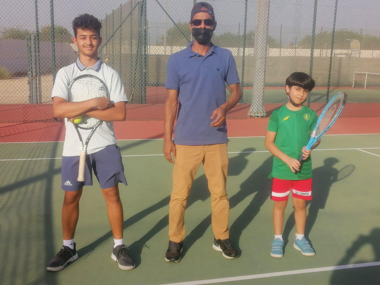 مشاركة تنس الخليج في بطولة الفردية لأندية الشرقية