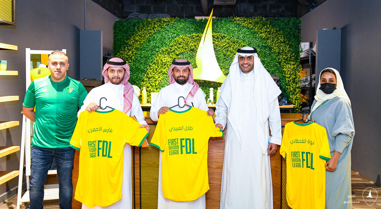 المدير التنفيذي لـ دوري يلو الأستاذ طلال العبيدي : الخليج نادي نموذجي